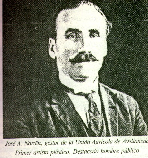 JOSÉ NARDÍN - PRIMER NACIDO EN AVELLANEDA HIJO DE INMIGRANTES