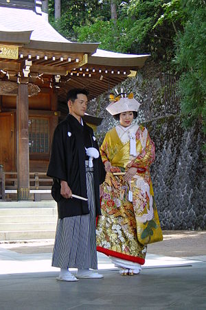 300px-Shinto_married_couple