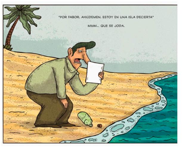 Cartón: Alberto Montt